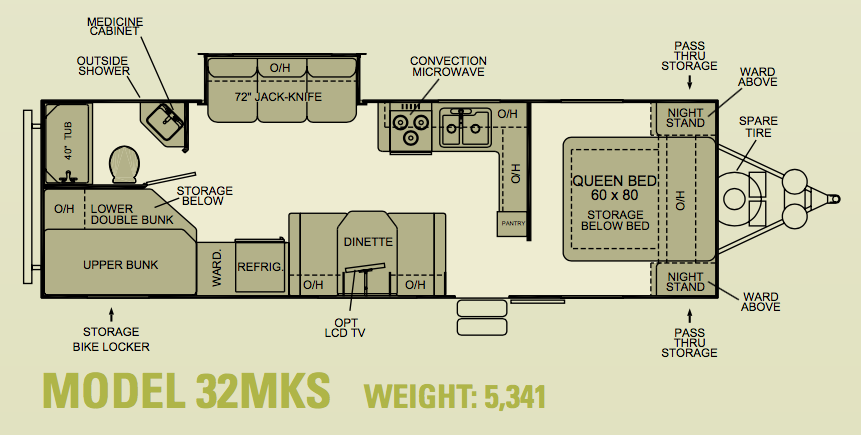 Evergreen 32k MKS Floorplan